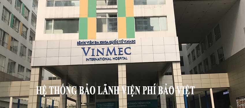 Hệ thống bảo lãnh viện phí của Bảo Việt (cập nhật ngày 03/03/2021)
